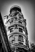 Ansonia Building in B&W